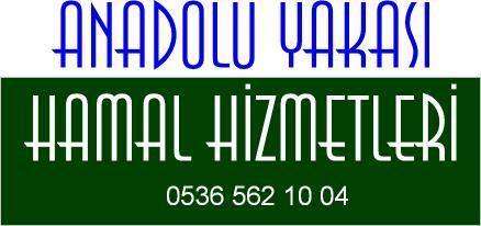 Anadolu Yakası  Hamal hizmetleri